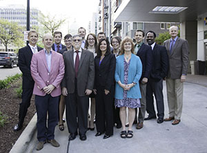 May 12, 2017 Medical Advisory Board, outside with state capitol building in the background
